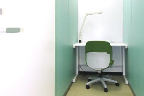 H室 1人使用専用ブースタイプ レンタルオフィスのイメージ
